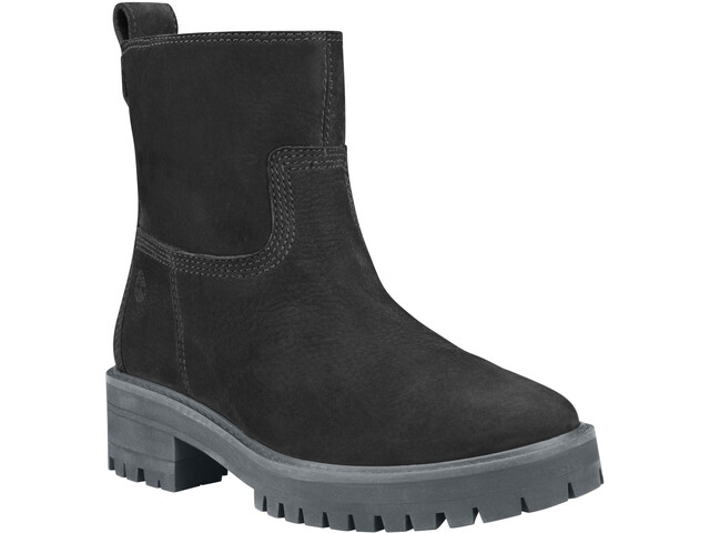 Timberland Courmayeur Valley Faux Fur Stivali Donna, jet black